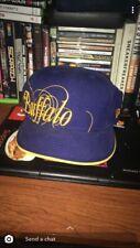 Buffalo Size 7 1/2 New Era Hat Cap Blue Yellow