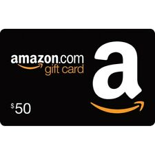 Amazon Gift Card - 50 USD / FAST EMAIL DELIVERY