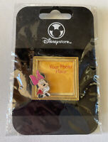 NEW Disney Store Minnie Mouse Picture Frame Pin