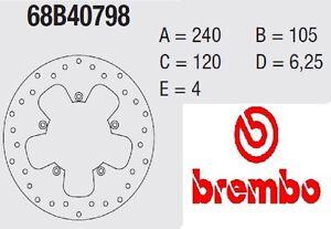 Disque Frein Brembo Série Or Avant Aprilia 300 Atlantic 10>11