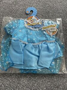 """Build a Bear Style Snow Princess, Frozen/Elsa Like, Outfit For 16"""" Teddy"""