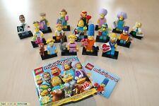 LEGO® 71009 The Simpsons™ Serie 2 Komplett Set - alle 16 Figuren - NEU in OVP -