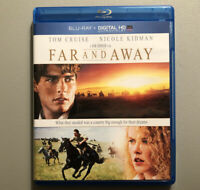 Far and Away (Blu-ray Disc, 2014, NO Digital Copy) Tom Cruise * Nicole Kidman