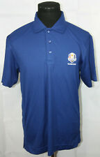 2016 Ryder Cup at Hazeltine Pullover Blue Polo Shirt 2XL
