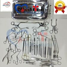 Tympanoplasty Micro Ear Surgery Surgical Instruments Set Of 41 Pcs Surgical Mti