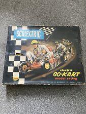 Triang SCALEXTRIC Go Kart Gk1 Set en caja con autos de colección