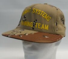 Camouflage Combat Systems Training Team Embroidered Snapback Cap Hat Military
