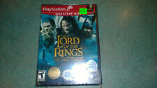 Lord of the Rings The Two Towers PS2 Sealed