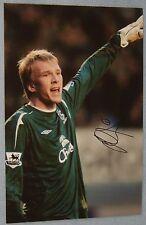 John rojiza Foto Firmada (Everton/Norwich)