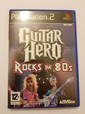 Guitar Hero:Rocks the 80s ps2 pal España y completo