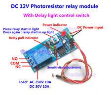 DC12V LED Light Control Switch Light Photoresistor Relay Module Sensor Detection