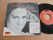 """DISQUE 45T DE CHARLOTTE LESLIE  """" L'ENCHAINEE """""""