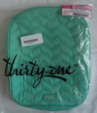 New listing Thirty One Chill-icious Thermal Lunch Bag - Retired Turquoise Quilted Chevron