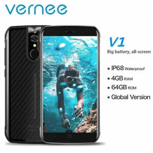 Vernee V1 4G Android Rugged Smartphone Mobile Phone Global Network NFC Unlocked