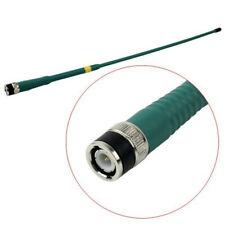 Green High Gain FP-405 144/430Mhz BNC Dual Band antenna for ICOM BAOFENG TYT HYT