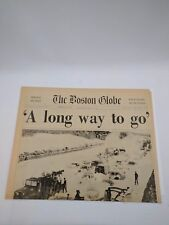 The Boston Globe Friday Feb 10 1978 Blizzard  A Long Way  To Go Pages 1 2 3 4