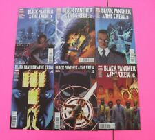 Black Panther & The Crew # 1,2,3,4,5,6  COMIC MARVEL 2017 Complete