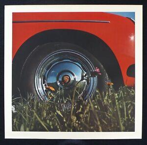 "PORSCHE 356 Wheel Cover Crest 1963 Factory Calendar 13x13"" Photo Poster"