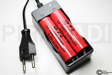 .CHARGEUR RX-77 + 2 PILES ACCU RECHARGEABLE 18650 3.7v 5300mAH BATTERY BATTERIE