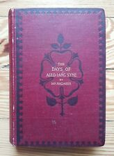Days of Auld Lang Syne, MacLaren 1895, SCOTLAND History stories Drumtochty