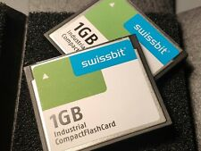 ORIGINAL Swissbit 1GB Industrial COMPACT FLASH CARD GERM. NEW