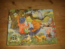 Vintage 1979 Winnie the Pooh 125 Piece Puzzle by Michael Stanfield