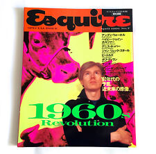 Esquire 1960s Issue Japan Magazine Apr-1991 Andy Warhol Godard Beatles Bob Dylan