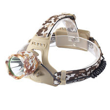 20000LM CREE XM-L T6 LED Head Torch Camouflage Headlamp Head light Lamp 18650
