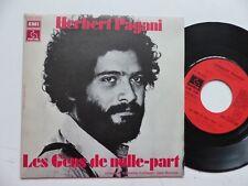 HERBERT PAGANI Les gens de nulle part ENNIO MORRICONE Orchestre 2C006 14446