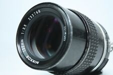 Nikon NIKKOR 135mm f3.5 Ai MF Lens with filter from Japan Excellent+++