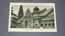 CPA CARTE EXPOSITION COLONIALE PARIS 1931 COLONIES NEDERLAND JAVA INDONESIE