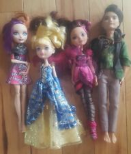 Lot of 4 Ever After High Dolls Low Reserve