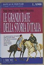 Ciccone, D'Innocenzo – Le grandi date della storia d'Italia – L'Airone editri...
