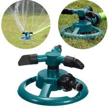 Rotating 360 Degree Sprinkler Garden Lawn Grass Watering System Water Hose Spray