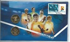 Pnc 2012 Australian Open 2 x $1 Coins Cost $29.95 Ex Po 02550/15,000 As Issued