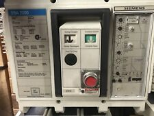 SBS2020 Siemens 2000 Amp LI MO BOLT IN 1 Year Warranty