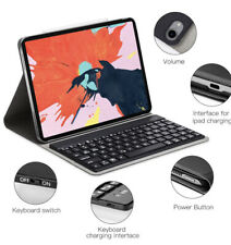 Keyboard Case Compatible for iPad Pro 11 2018 Cover Case with Auto Sleep & Wake