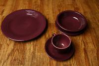 Fiesta Purple Dish Set Cup & Saucer, Mug, Bowl, Plates Fiestaware