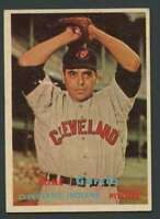 1957 Topps #300 Mike Garcia EXMT/EXMT+ Indians 20215