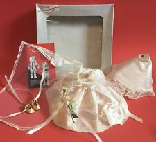 1950s Vintage Vogue Ginger Ginny Muffy Tagged Outfit with Box Dress Veil Bouquet