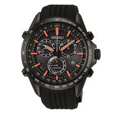 Seiko Astron Men's Solar Chronograph Watch SSE017J1