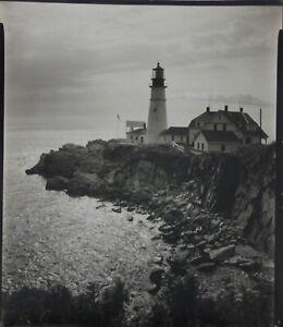 ARNOLD NEWMAN-Photographer- LIM.ED Gelatin Silver-New England Coastal/Lighthouse