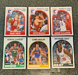 NBA Hoops 1989 Trading Cards