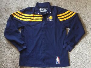 """Paul George Indiana Pacers Game Worn Team Issue Adidas Warm Up Jacket Sz XL +2"""""""