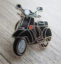 VESPA  Pin / Pins: Roller / Scooter - schwarz-  emaillert - PX 50 - Kult