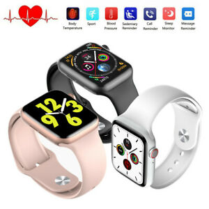 New Smart Watch Body Temperature Heart Rate ECG Monitor Fitness Activity Tracker
