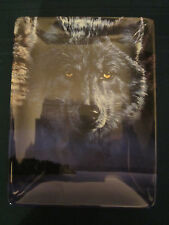 Wolf collector plate Vigilance Vivi Crandall Eyes Of Night Bradford