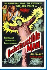 Indestructible Man Movie Poster24in x 36in