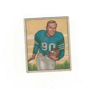 1950 Bowman R. HOERNSCHEMEYER #39 Detroit Lions