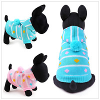 Pet Dog Sweater Clothes Puppy Cat Sweet Hoodie Winter Apparel Chihuahua Costume